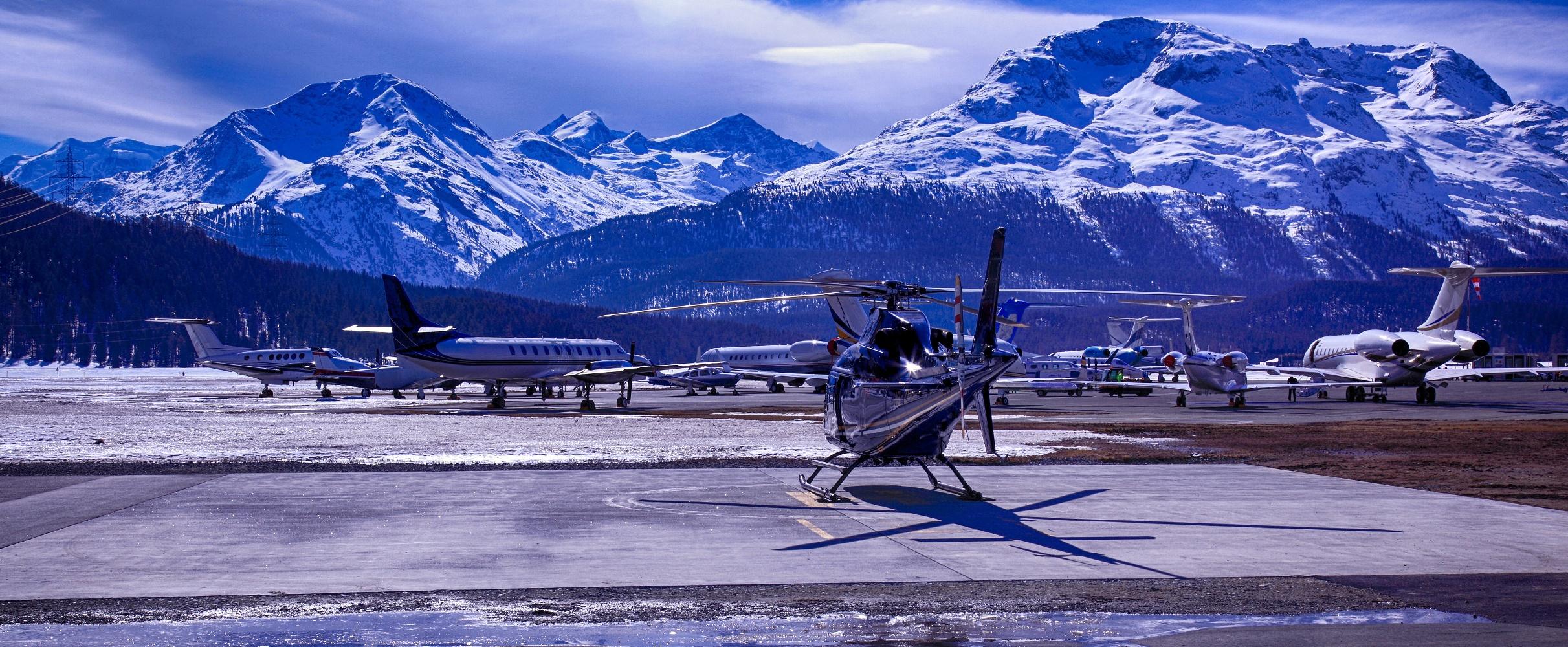 Аренда вертолета в Женеве